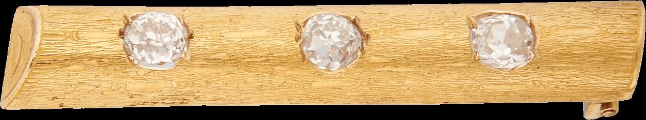 Брошь с бриллиантами