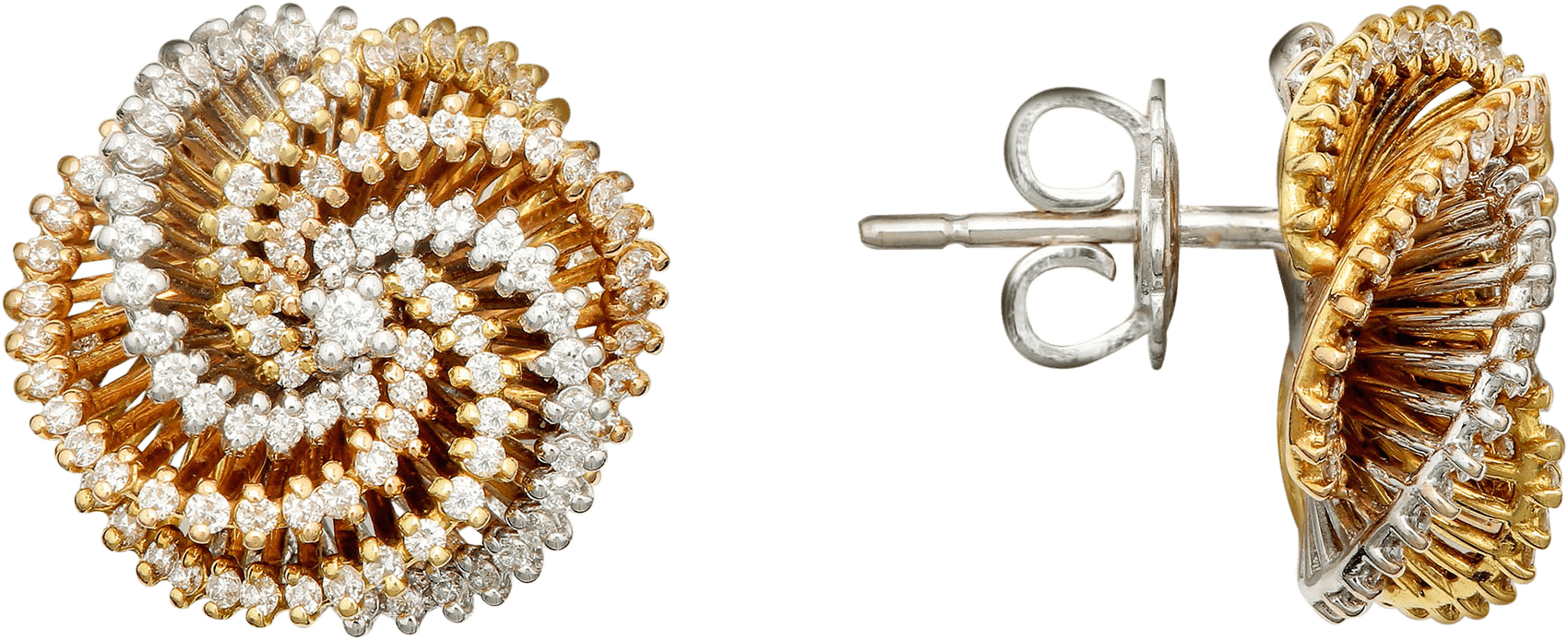 Серьги с бриллиантами